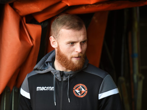 Dundee United's Mark Connolly.