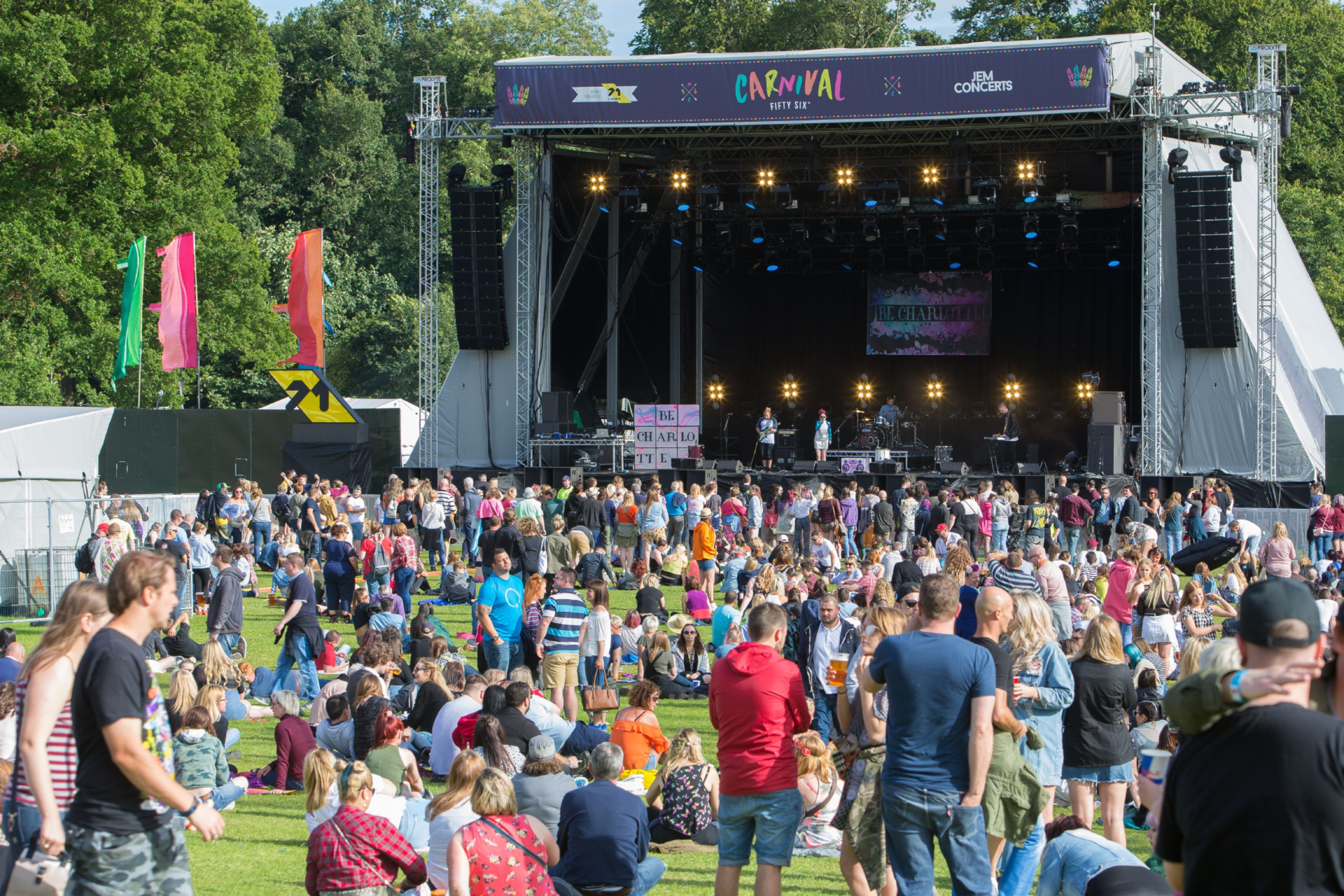 Large gathering, such as this one at Carnival 56 in Dundee, have been put on hold.