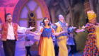 Cast Members of Snow White performing at the Gardyne Theatre.