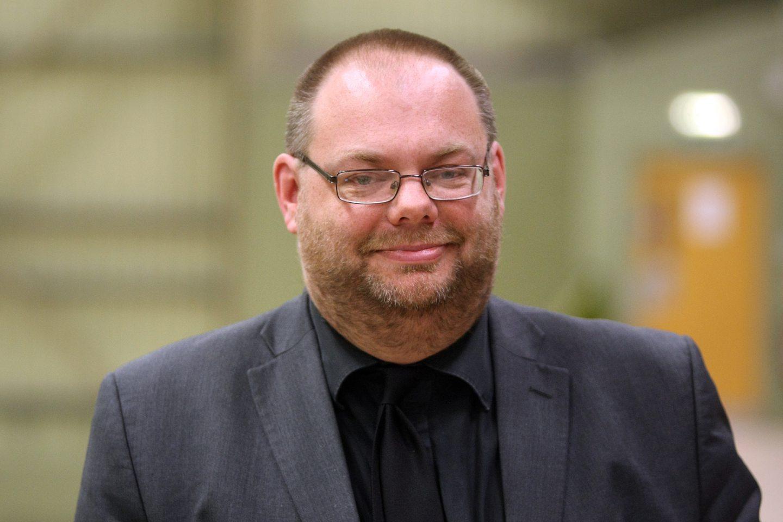 Dundee City Council's education convener, Stewart Hunter.