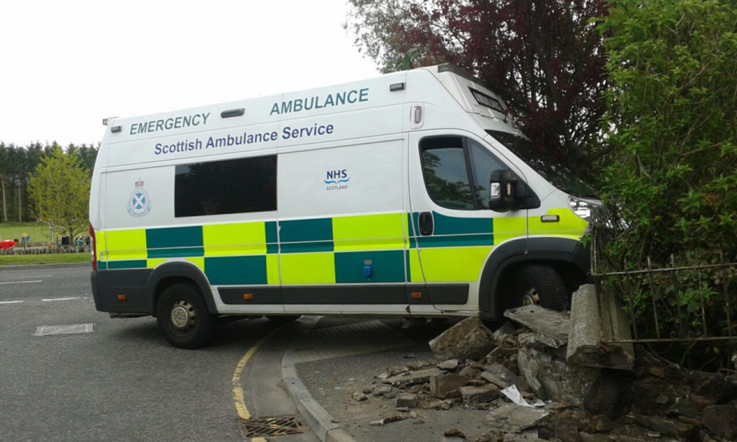 Ambulance chiefs have logged 46 crashes in Tayside this year.
