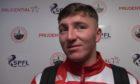 Brechin City goalkeeper Lewis McMinn.