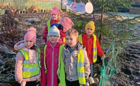 Some of the children at the garden.