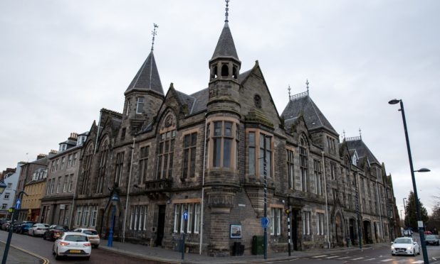 The council-owned property at 1-5 High Street, Perth.