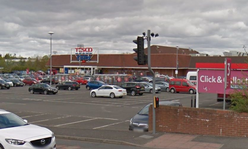The Tesco store in Crieff Road in Perth.