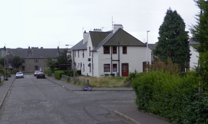 The junction of Townhead Road and Noran Avenue.