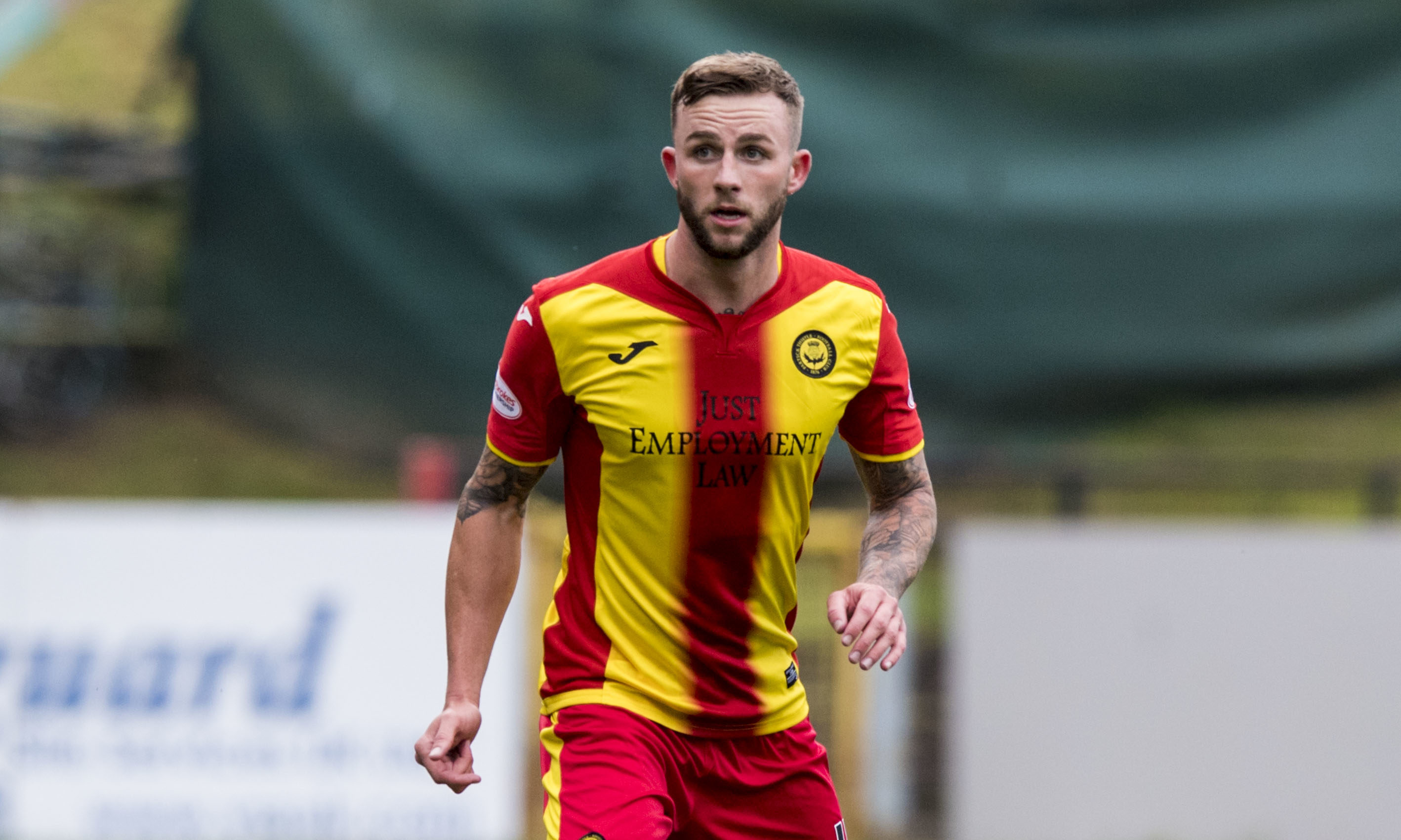 Christie Elliott in action for Partick Thistle