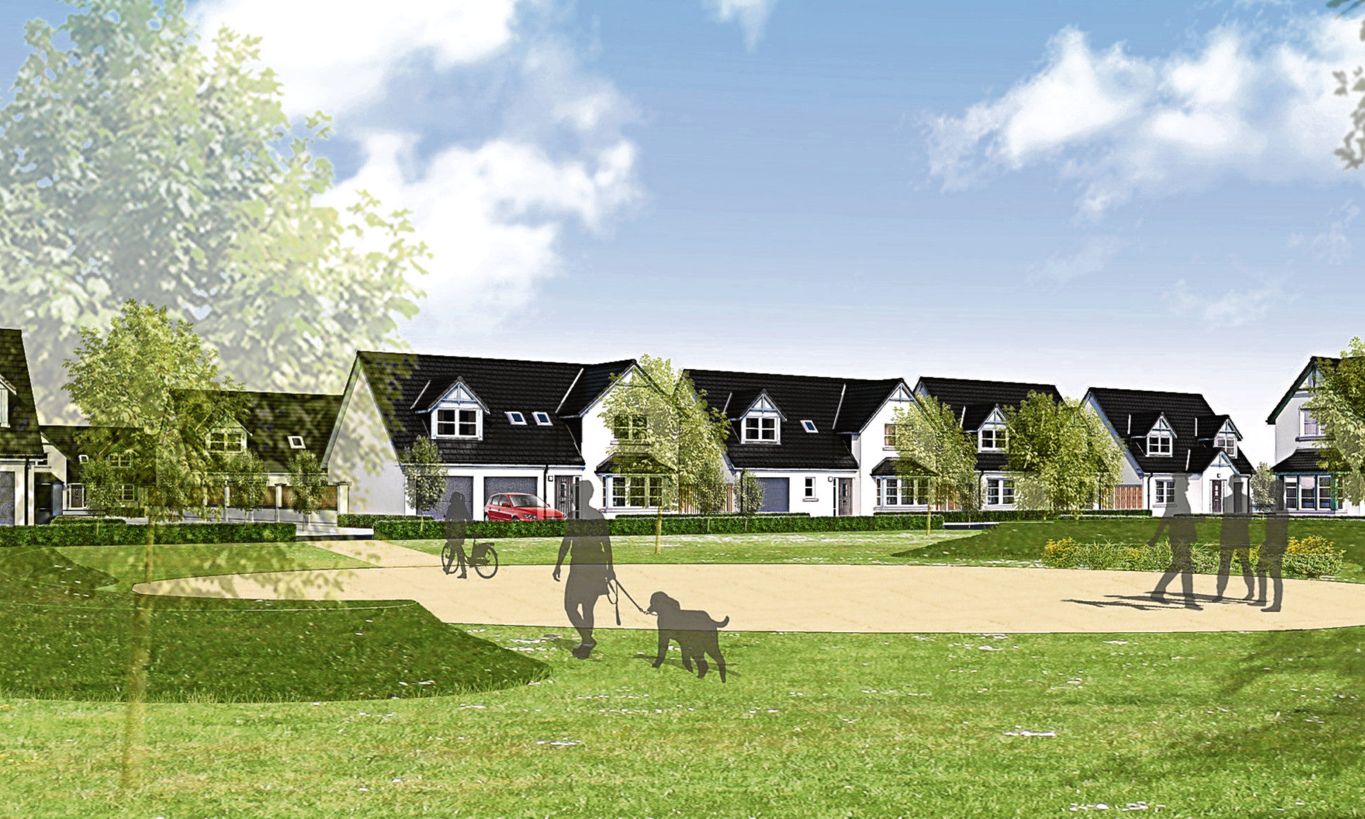 The proposals for phase two of Balgillo Heights have been refused by councillors.