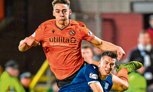 Cammy Kerr reckons Dundee can take heart from their derby draw at Tannadice.