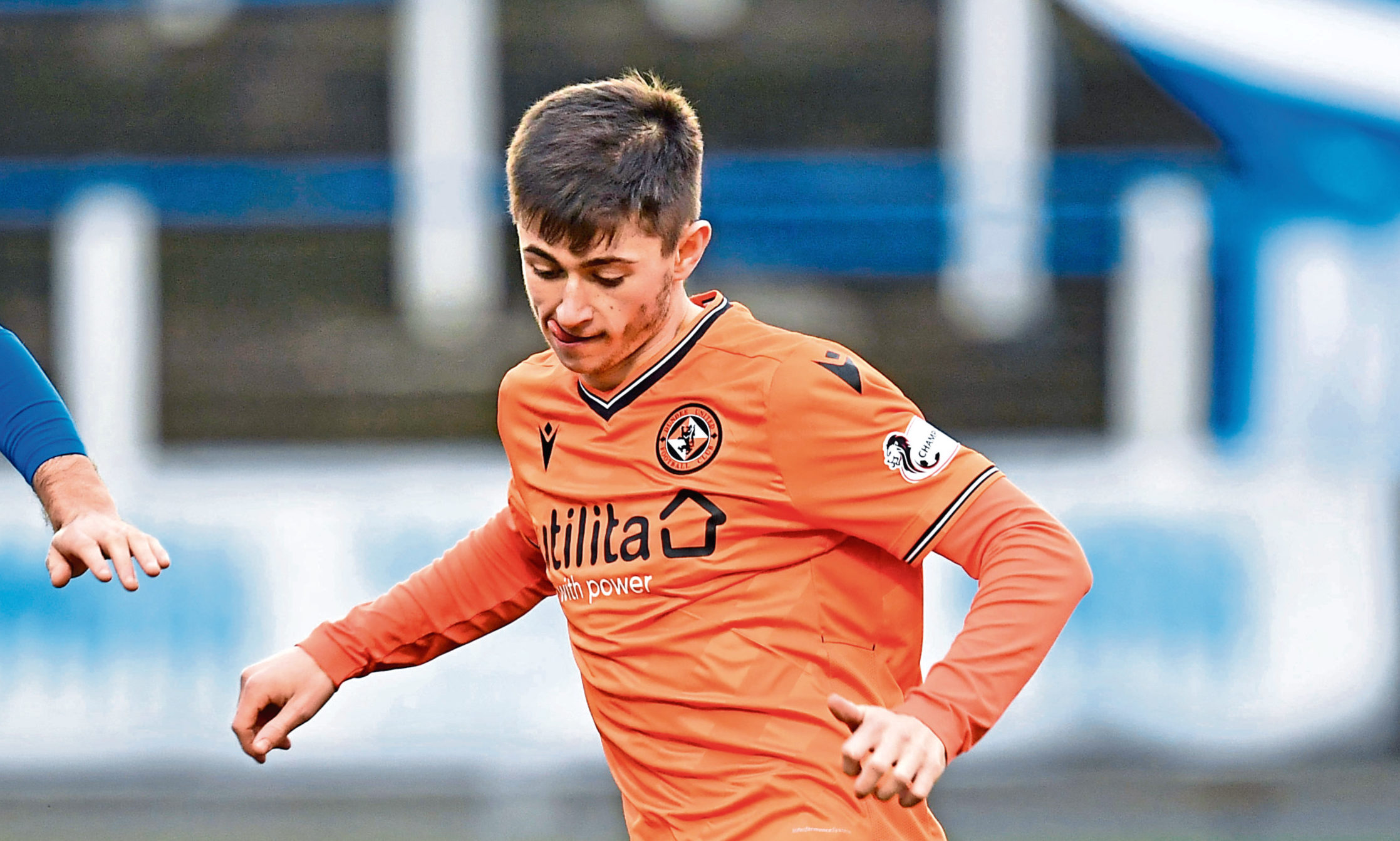 Dundee United's Declan Glass.