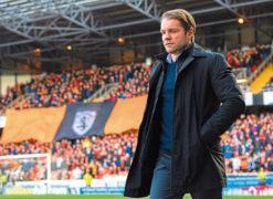 Robbie Neilson salutes Dundee United chairman Mark Ogren's leadership