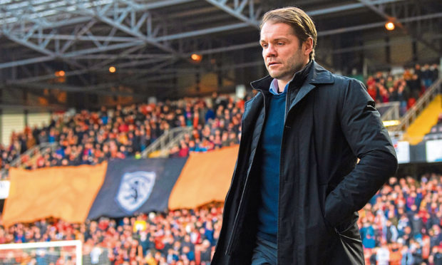 Robbie Neilson wants Tangerines supporters back at Tannadice as soon as possible.