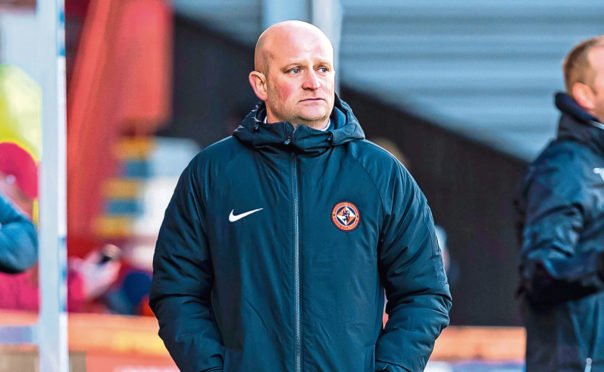 Dundee United assistant manager, Gordon Forrest.