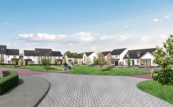 A planning application to build 158 new homes off Kilmany Road in Wormit has been given the go-ahead by Fife Council.