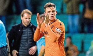 'I'm focused on getting this league won' Dundee United striker Lawrence Shankland shoots down transfer talk as he discusses coronavirus shutdown