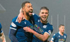 Kane Hemmings (left) opened the scoring the last time Dundee and Morton met in the league, when the Dark Blues won 2-1.