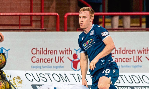 Danny Johnson in action against Inverness. Dundee boss McPake has admitted the strikers move to Leyton Orient suited all involved.