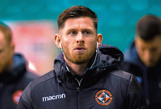 Calum Butcher is on the Tannadice injury list.