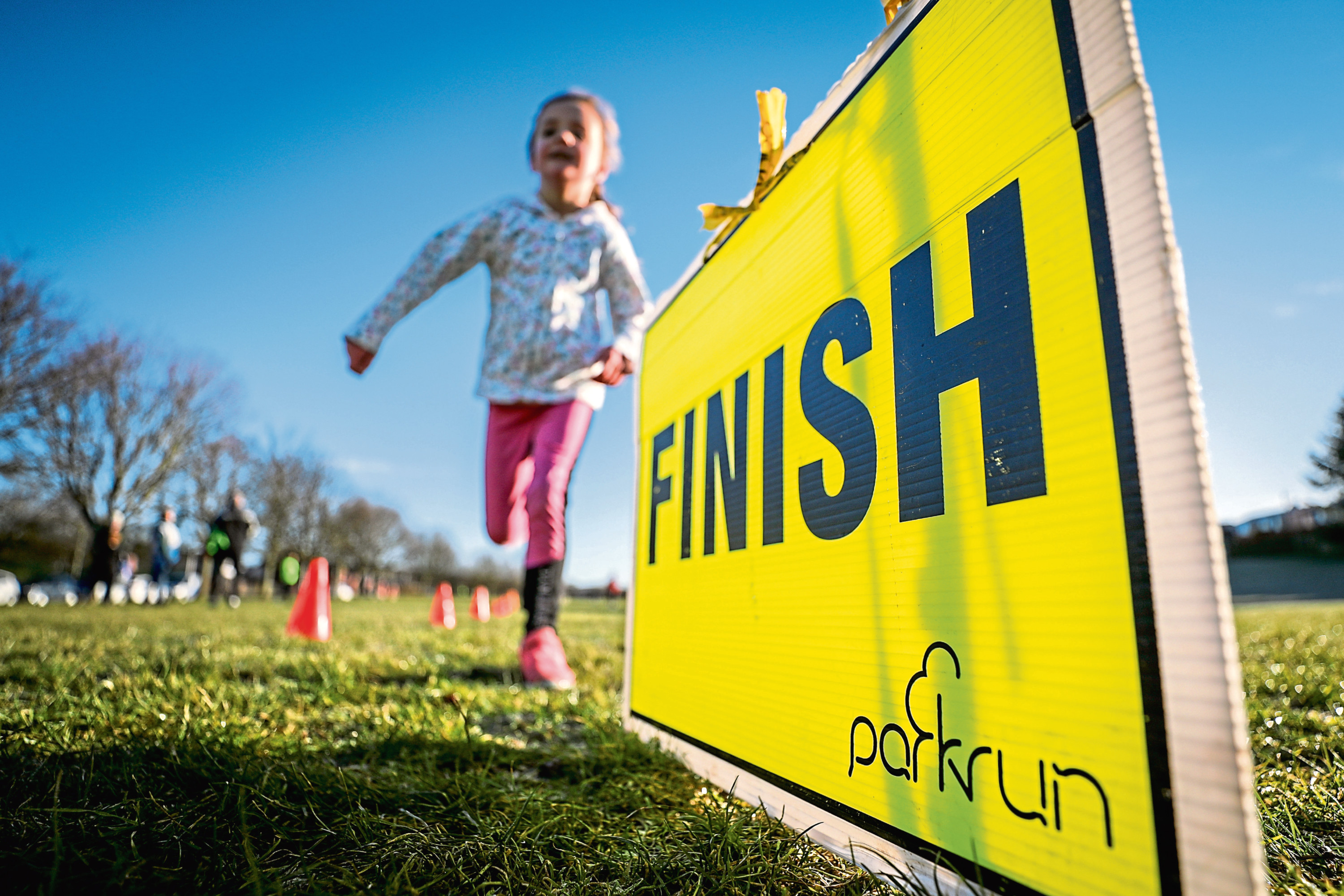 Youngsters are being urged to join the Strathmartine Junior Parkrun.