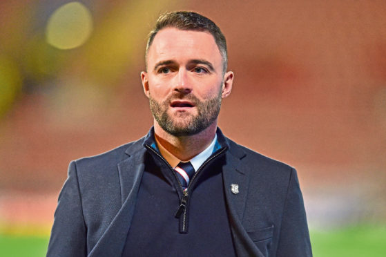 James McPake cut his teeth in the youth coaching ranks at Dens before becoming first-team gaffer.