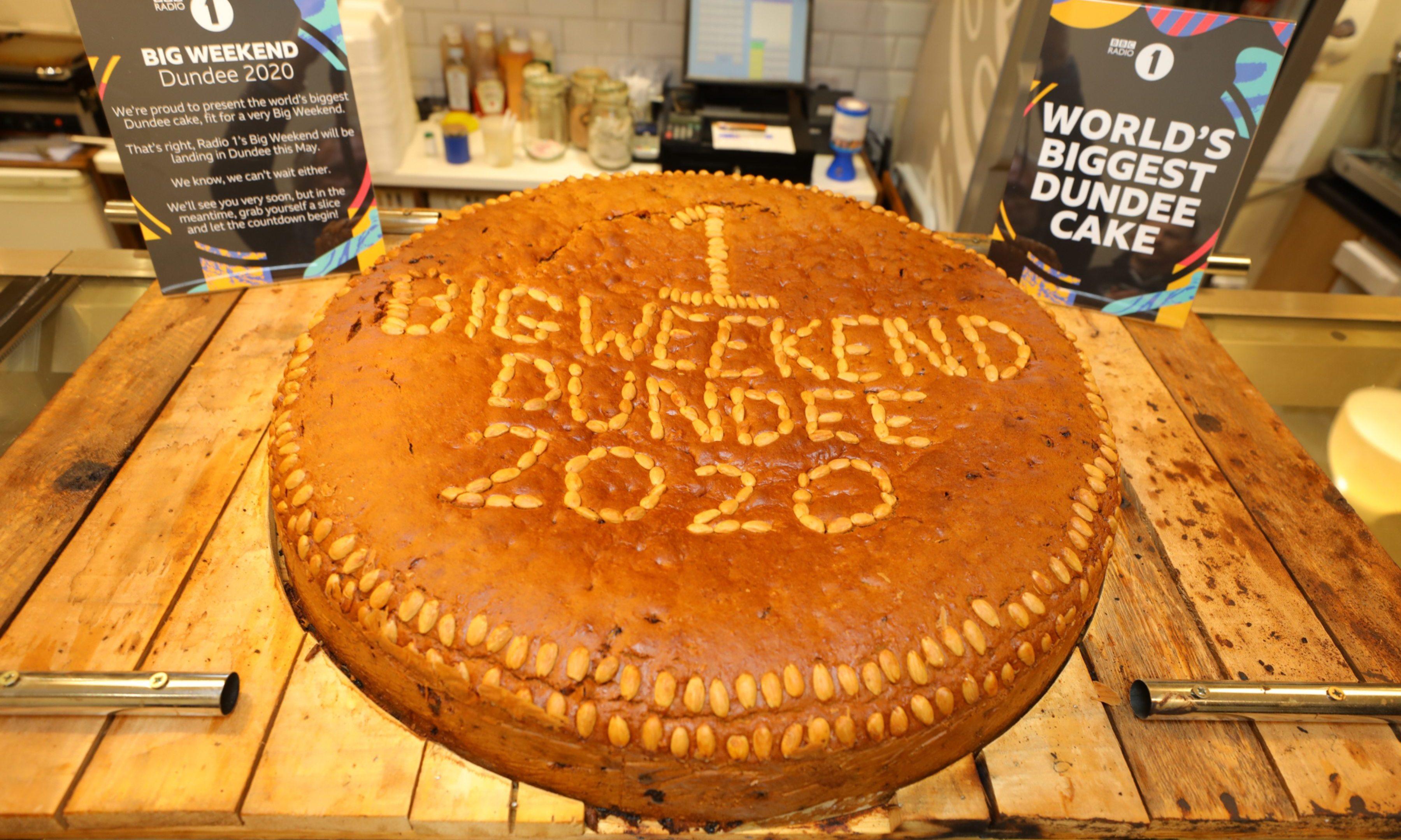 Clark's Big Weekend Dundee Cake.