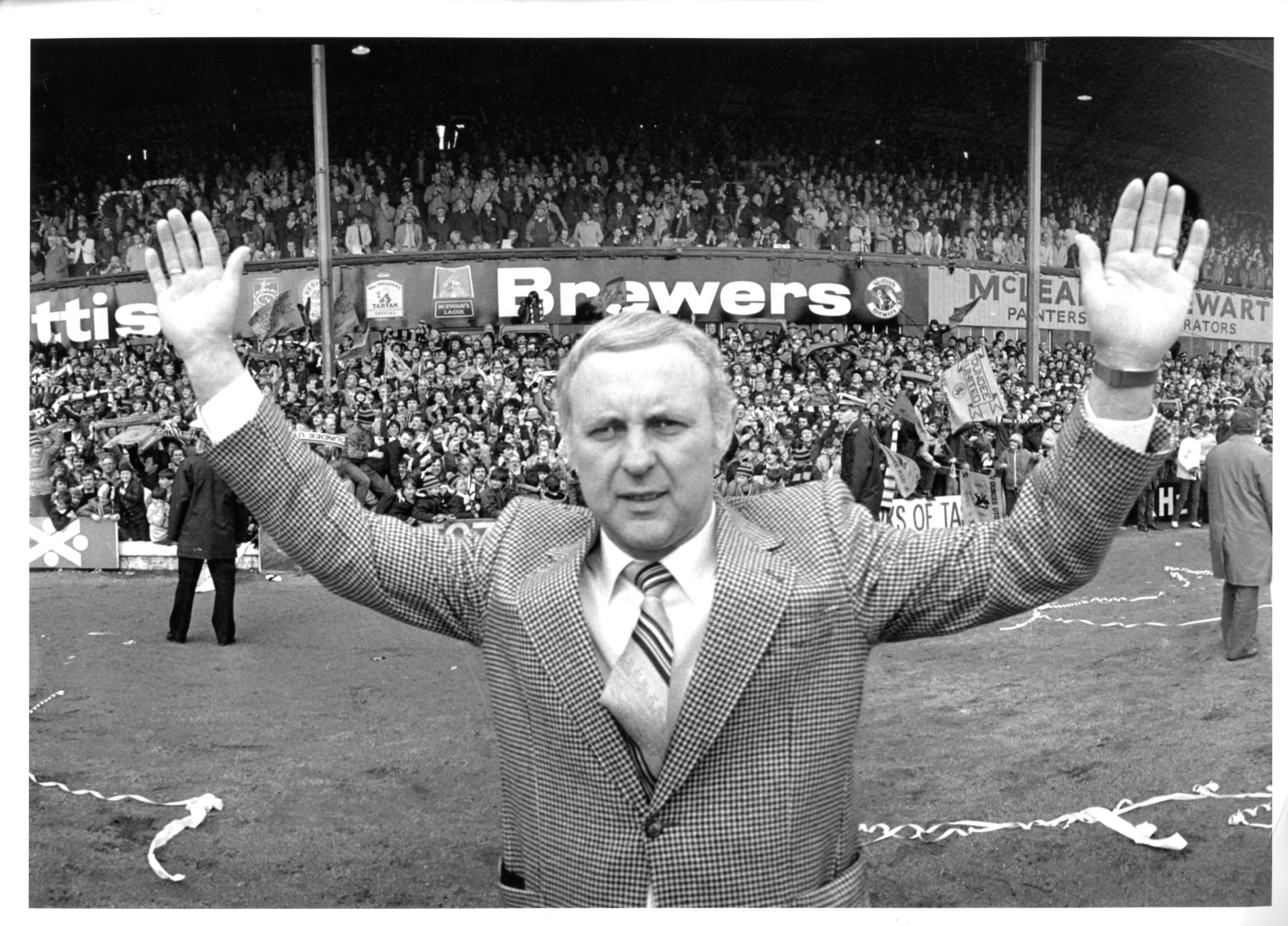 United legend Jim McLean