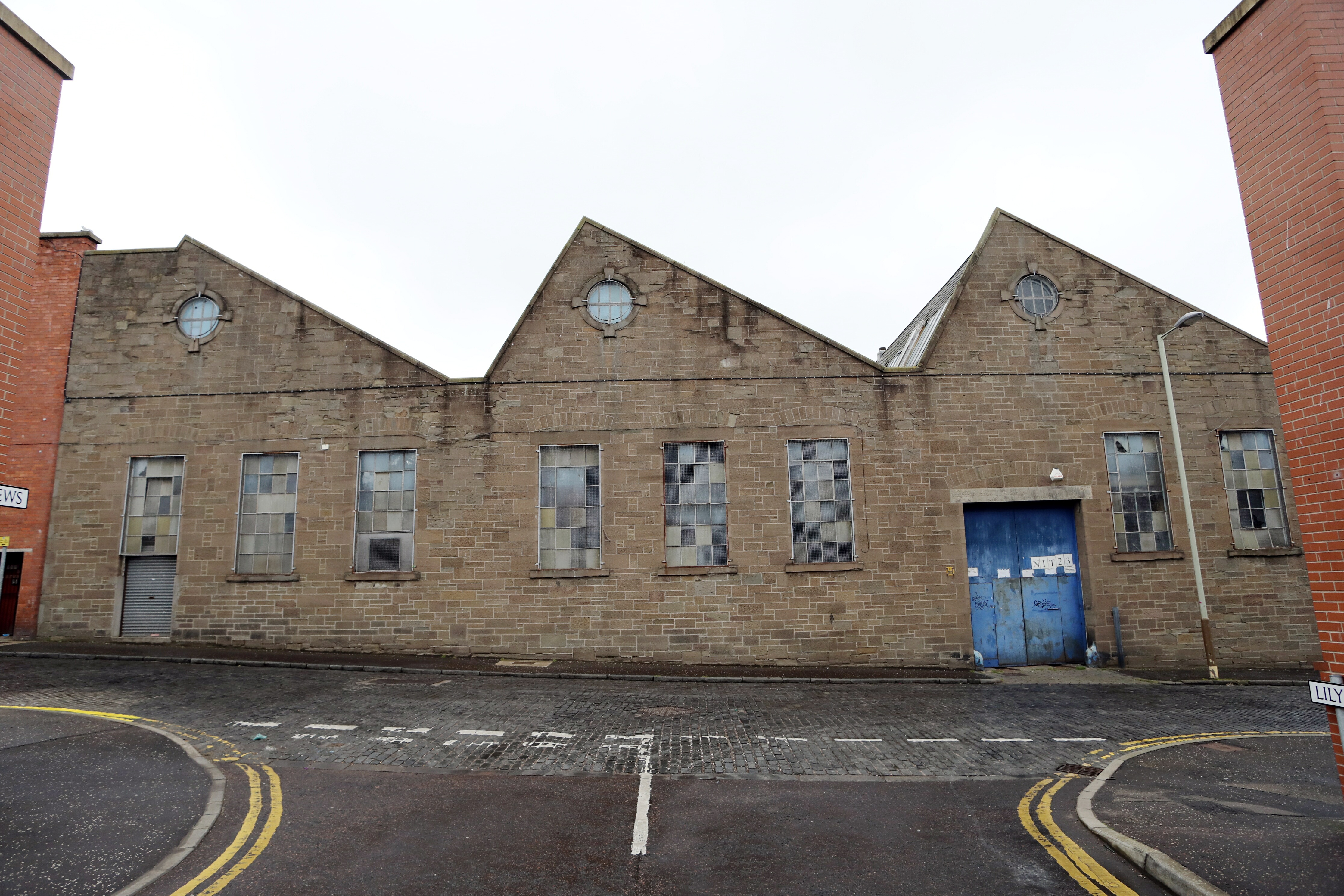 The old Taybank Works in Morgan Street.
