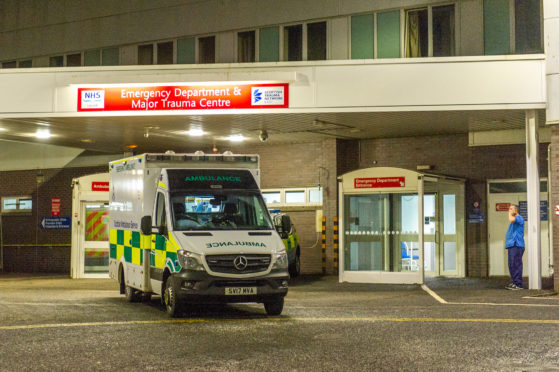 The emergency department at Ninewells Hospital.