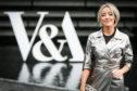 Fashion designer, Hayley Scanlan at V&A Dundee.