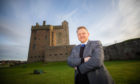 Alan Ross, City Development Convener for Dundee City Council, outside Broughty Castle.