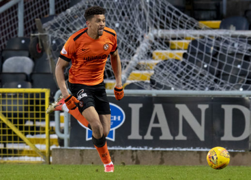 Osman Sow in action for United.