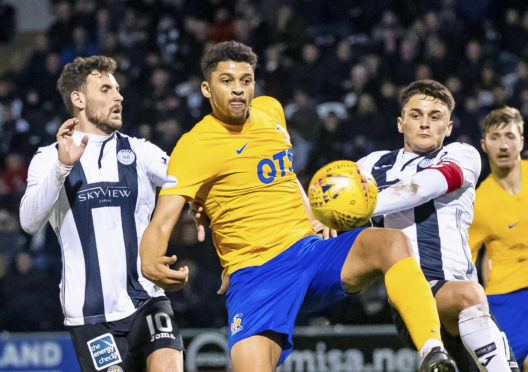 Dundee United striker Osman Sow spent the first half of the season on loan at Premiership Kilmarnock as United assess his situation.