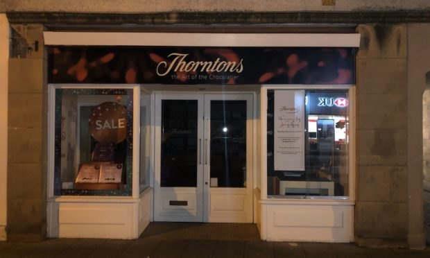 The Thorntons store is to close on January 25.
