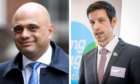 Council leader John Alexander (right) has attacked the timing of Sajid Javid's (left) Budget announcement.