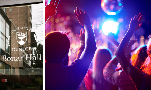 Dundee Uni union chiefs are hoping to run nightclub-style events in Bonar Hall.