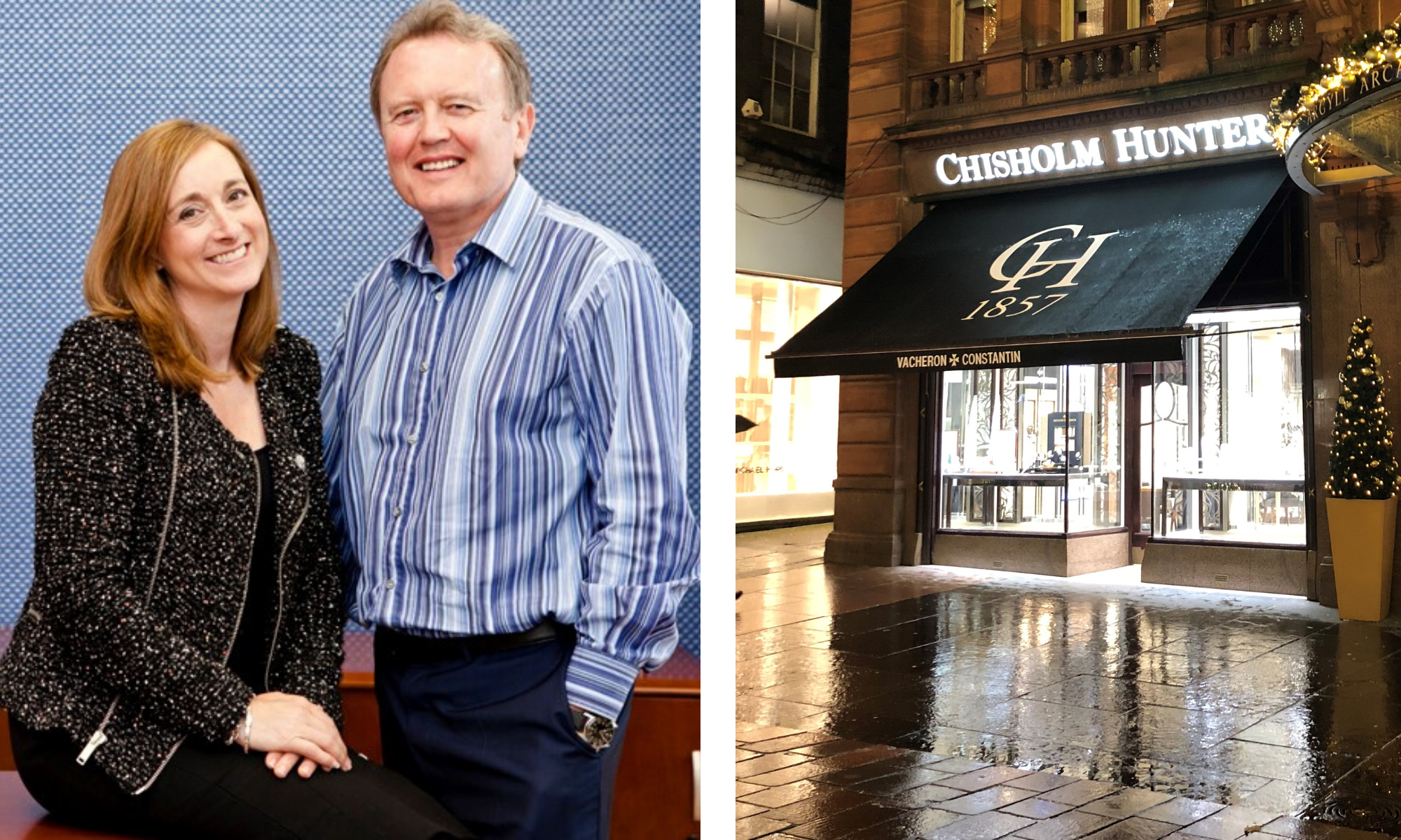 Tracey and Harry Brown are excited to bring a Chisholm Hunter store to Dundee.