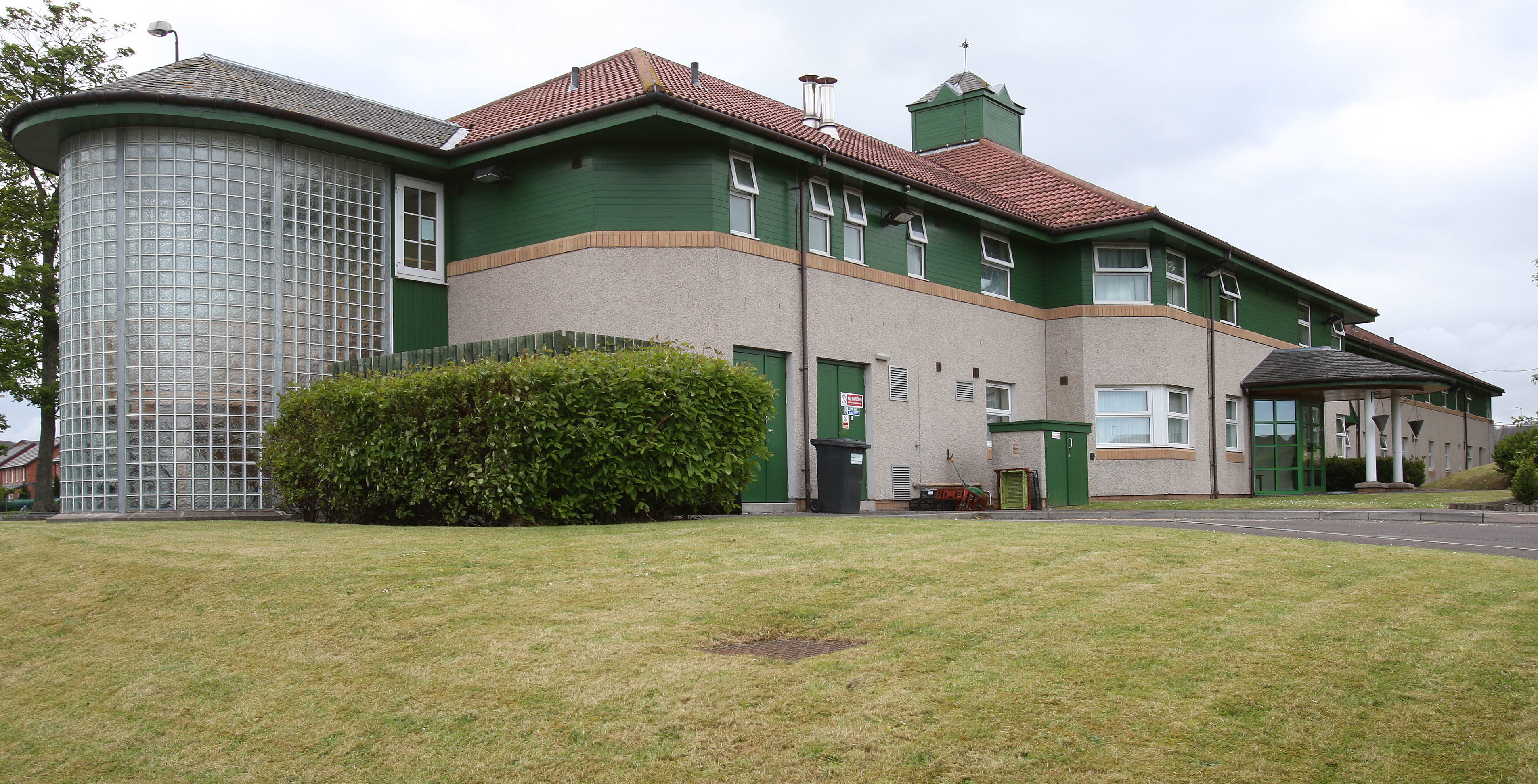 His victim was a resident of Monroe House Care Home on Americanmuir Road.