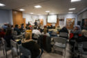 A public meeting was held last night to discuss the new custody unit (Picture: Mhairi Edwards/DCT Media)