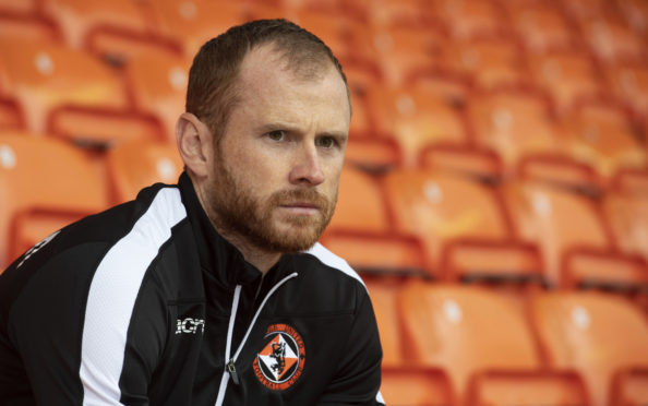 Dundee United's Mark Reynolds.