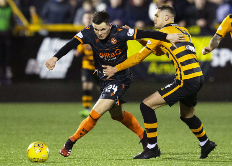 Lawrence Shankland had some decent chances but couldn't make the breakthrough for a lacklustre Dundee United.