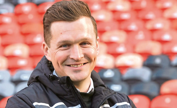 Andy Goldie hailed Dundee United's youngsters