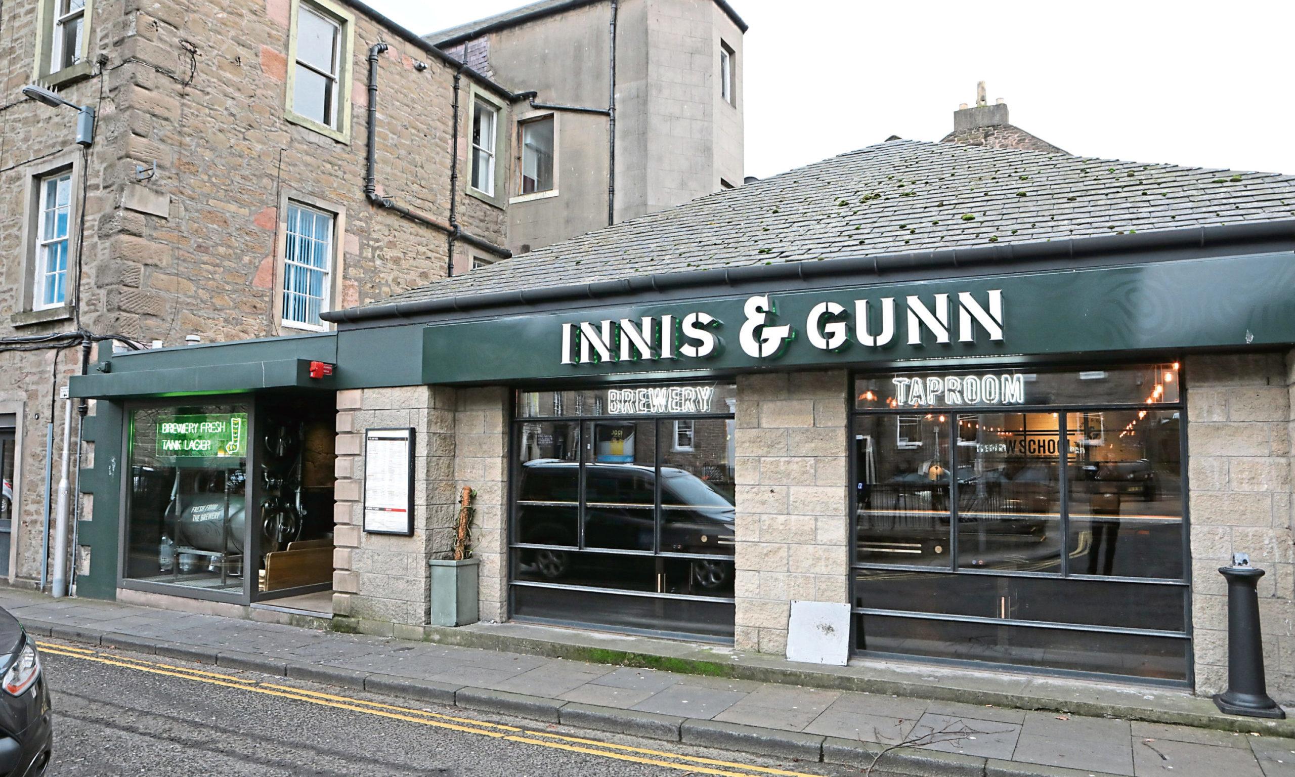 Innis and Gunn Dundee.