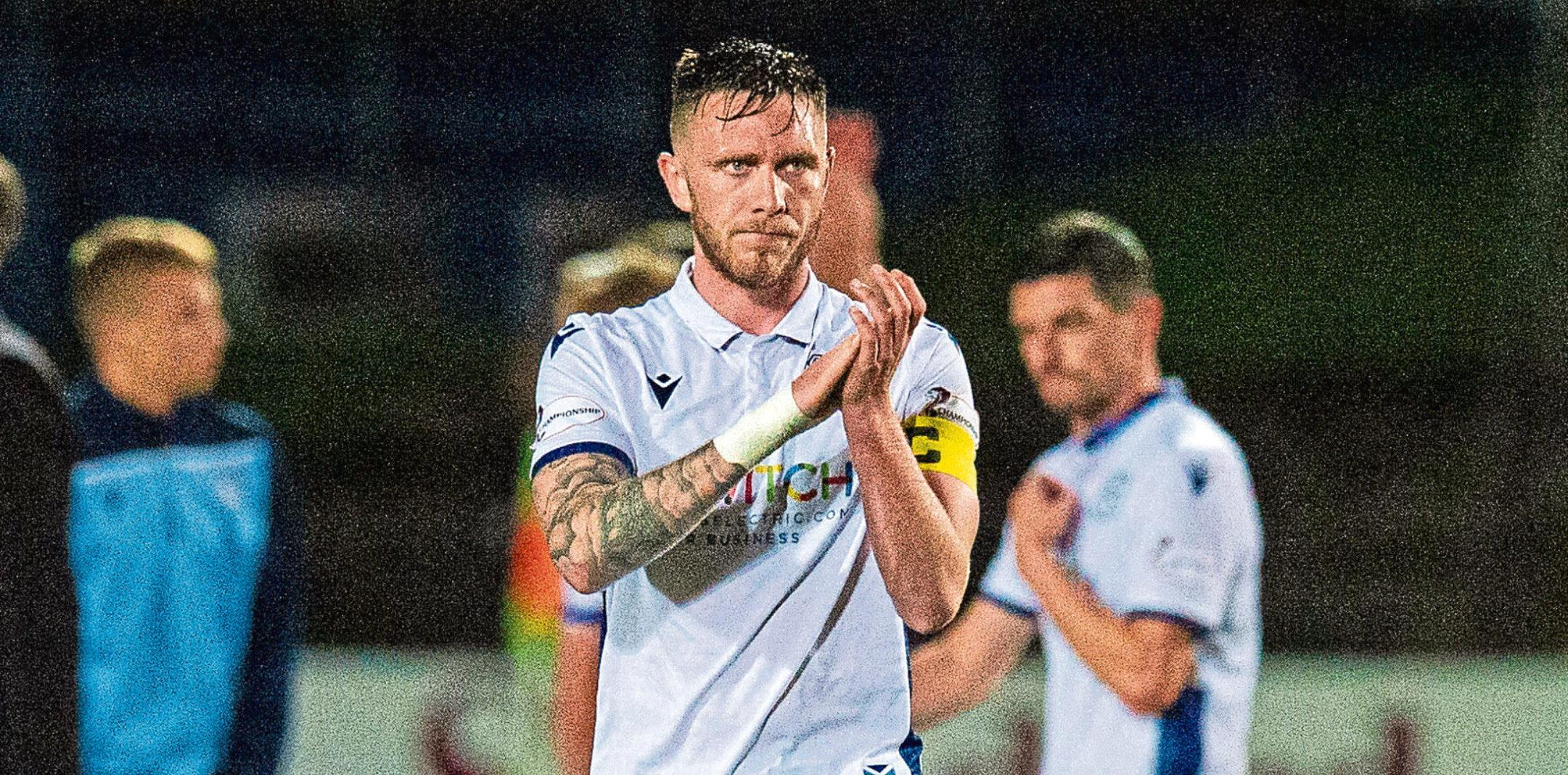 Jordan McGhee will skipper Dundee next season.