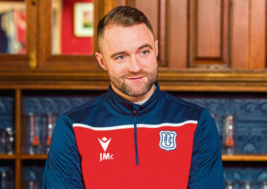 Dee gaffer, McPake, wants an even better working environment at Dens Park.