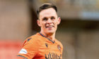 Lawrence Shankland during a match between Dundee Utd and Greenock Morton.