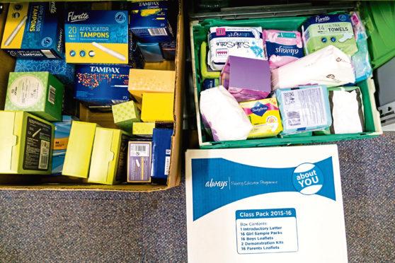 Sanitary items.