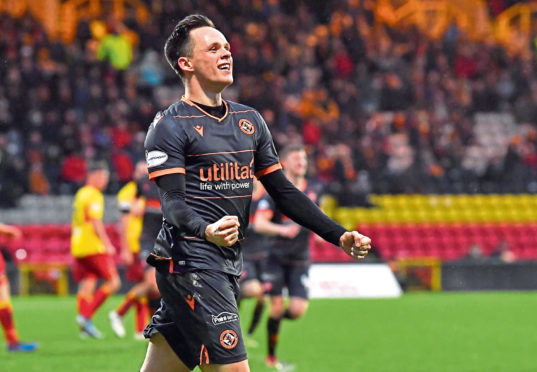 Lawrence Shankland was United's main man last season