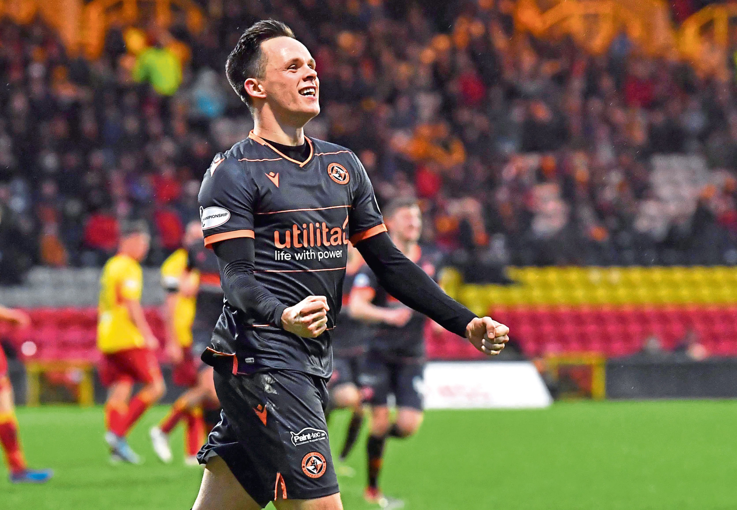 Dundee United talisman Lawrence Shankland.