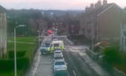 Emergency services at the scene.
