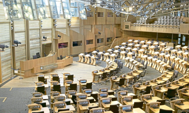The Scottish Parliament. (Stock image.)